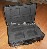 Black Embossing Aluminum Presentation Carrying Case