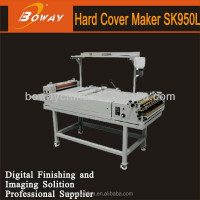 BOWAY SK-950L whole producing system glue binding book hard cover machine