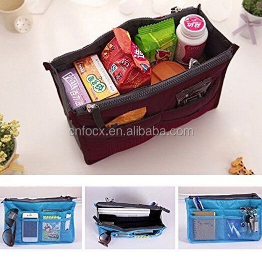 Purse Organizer Insert Large Women Travel Insert Handbag Liner Tidy Organiser
