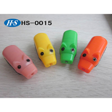 Plastic battery operated animal shape electronic flash toy