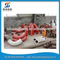 Wholesale alibaba Pipe fitting 90 degree concrete pump 90 degree casting elbow