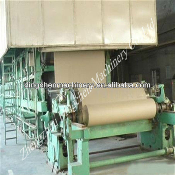 1092mm 5tpd small scale waste paper recycling manufacturing mill plant machinery