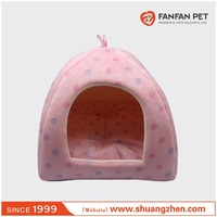 Hot wholesale cute high quality warm beauty pet bed tent dog yurt