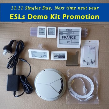 Exclusive Sunpai Electronic Shelf Label Demo Kit