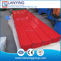 Cheap and high quality color corrugated steel sheet