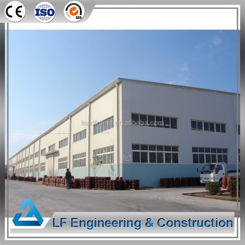 Easy Assembled Structural Steel Fabrication Warehouse Workshop
