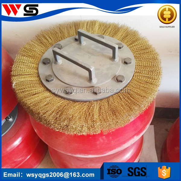 steel pipe gas equipment instrument cleaning brush pig