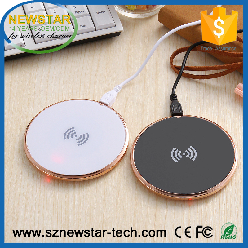 Universal hot selling qualified OEM/ODM qi wireless charger