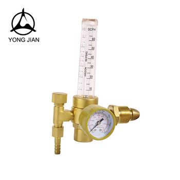 High precision low price brass co2 and argon pressure regulator