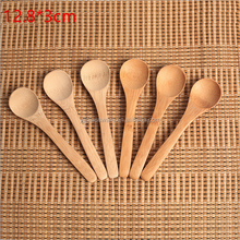 2017 hot selling small wooden salt spoon