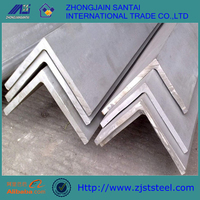 Equal & Unequal 45 degree Q235b Hot rolled steel angle iron weight