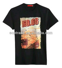 2015 brand fashion black jersey patterns summer men t-shirt cheap wholesale