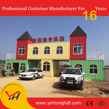 Migrate Temporary School Classroom Container House, Genset power generator container