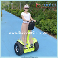 Special apple green color electric chariot scooter for lady