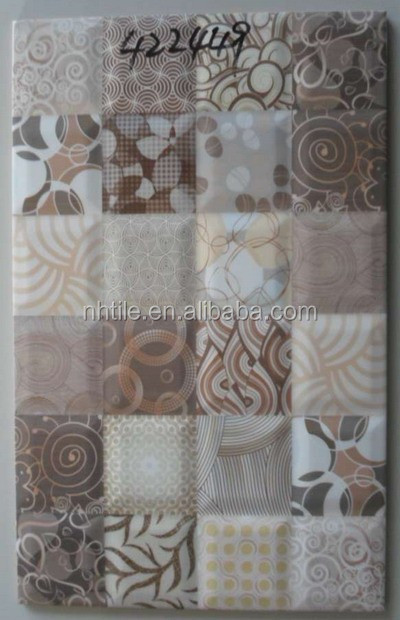 250x400 MM 3d tile tactile tile peel and stick tile