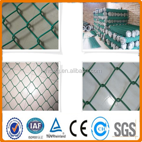 Woven wire diamond pattern mesh / Chain link Fabric / Chain link fencing