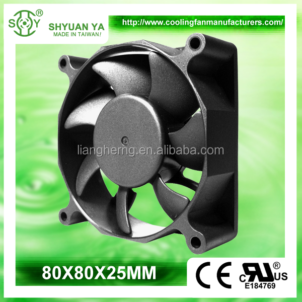 High Speed DC Axial 12V 24V Laptop External Cooling Fan