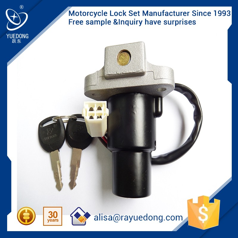High Quality WINP125 motorcycle 125 ignition switch WINP125 motor ignition lock for honda dio parts motorcycle parts