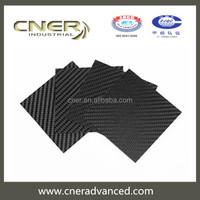 Brand Cner 3K plain carbon weaving 100% real carbon fiber laminated sheet
