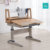 Easy Assemble Children Use Solid Wood Study Table High Quality Desk