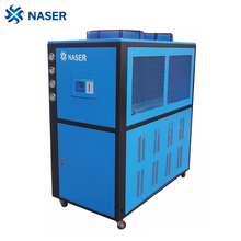 Free standing air cooled packaged water chiller for commercial use