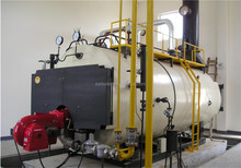 WNS gas/oil fired horizontal steam/hot water boiler/2t/h steam boiler