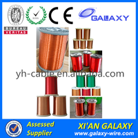 UL/SGS/RoHS Certificated AWG Enamel Coated Wire Enameled Copper Magnet Round Wire For Armature