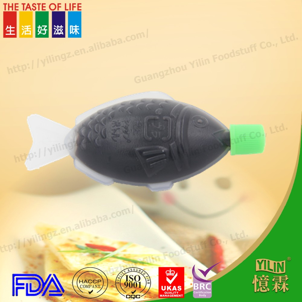 8ml pure healthy low sodium Japanese fish soy sauce from china manufacturer