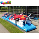 60Ft Inflatable slip and slide inflatable water slide for adult