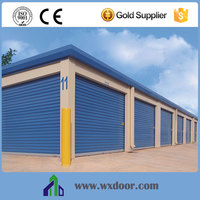 Windproof Steel Remote Rolling Door With Reasonable Prices