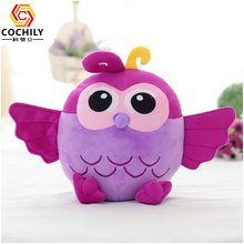 cheap colourful owl birthday gift plush <strong>toy</strong> for babies cute stuffed animals