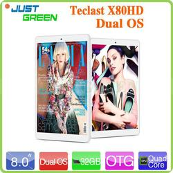 "New arrival! Teclast 8"" IPS Intel Quod Core 2GB 16GB/32GB pc tablet Dual OS BT 4.0 dropship"