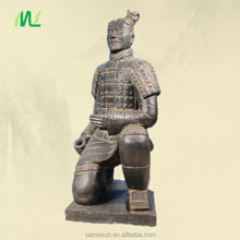 Waterproof Kneeling Archer Terracotta Warriors for Garden Decoration