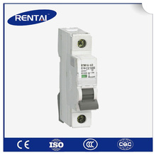 high quality UL certificate 4 pole 63 amp mcb switch types electrical miniature circuit breaker SFM16-63