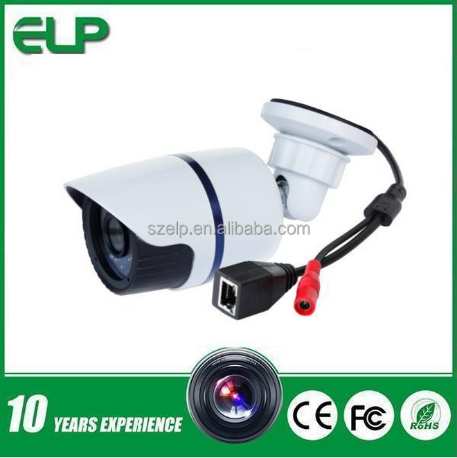 ELP new product low cost 1mp onvif p2p 720p outdoor waterproof bullet ip camera with night vision