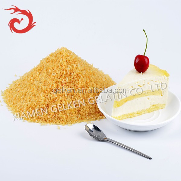 250 bloom gelatine for dessert/gelatin halal