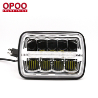 New Product 6500K IP68 45W Hi/Low DRL 5x7 Jeep Led Headlight