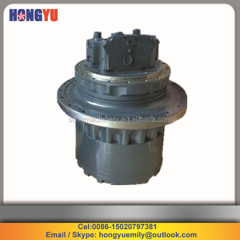 hydraulic parts PC200-7 final drive, 708-8F-00171 excavator parts PC200-7 travel motor