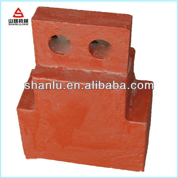 Crusher spare parts impact hammer