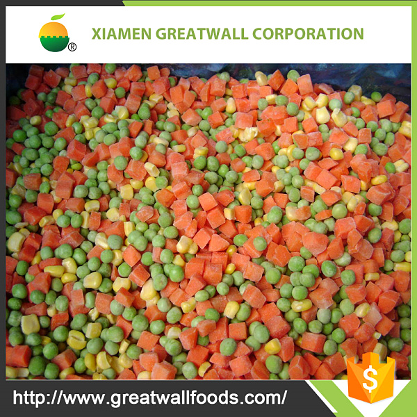 IQF mix vegetables /Frozen California Mixed Vegetable