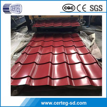 Many color coated hot Selling unique design corrugated metal roof sheet
