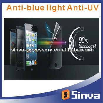 100% New Anti UV Anti Blue Light Screen Guard for iphone5S/5C