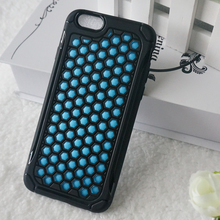 Handle case fingerprinting proof case accessory for iphone 5c