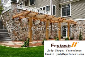Balcony waterproof decorative pergola