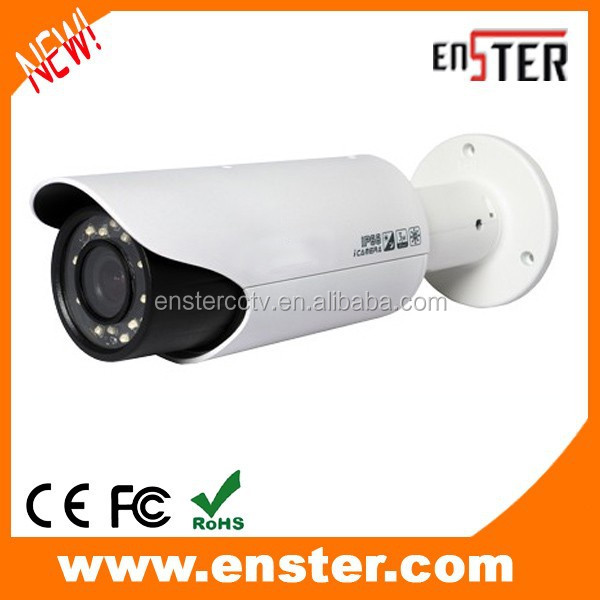 Outdoor 1080P 2.0MP TVI Camera with IR-CUT Filter IR Array LEDs, DVR/RS485 adjust for Zoom&Focus