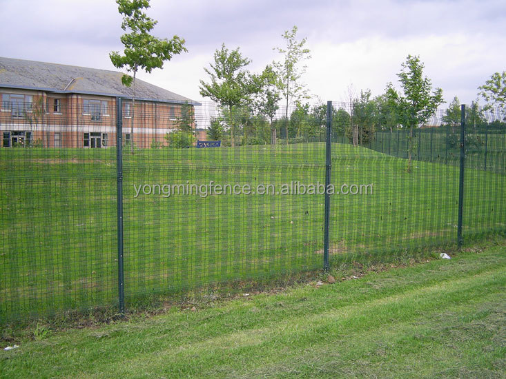 Welded V mesh PVC Coated Galvanized Wire Mesh Fence Protection Fence With China Anping Factory