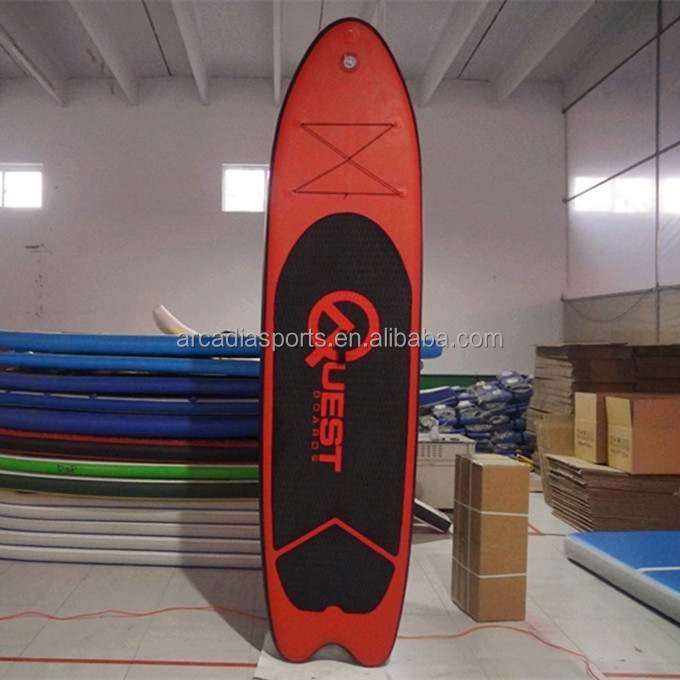 New Fashion Inflatable SUP Board With Fish Tail Big Paddle Boards For Sale