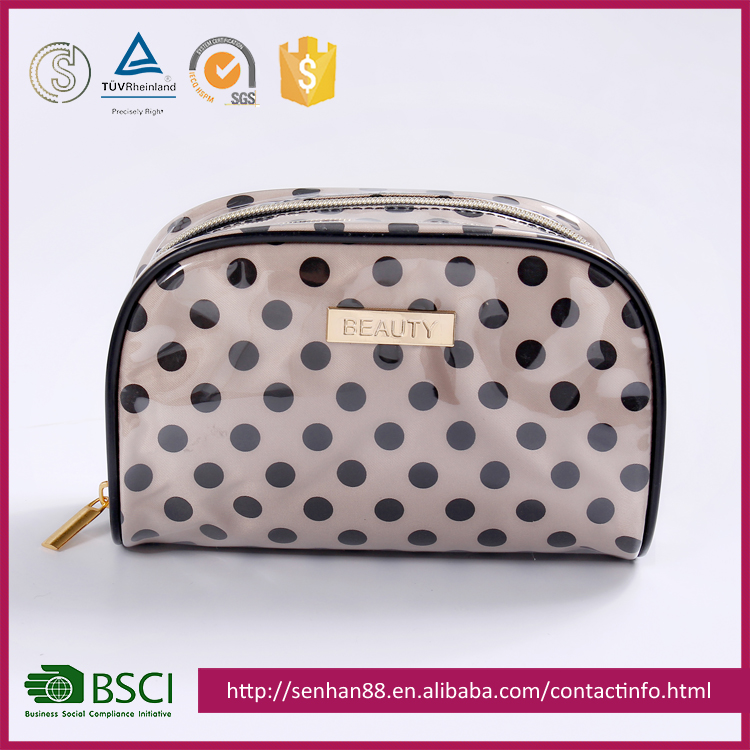 2017 New Fashion Design Dot the makeup bags