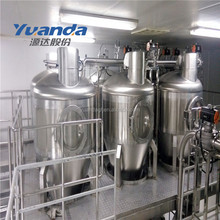 Airtight conveying mini dairy milk products processing plant lab equipments