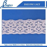 Hot Sell Elastic Trim Lace